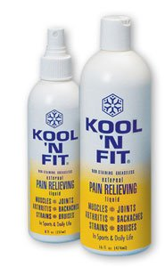 Kool 'N Fit Pain Relieving Liquid-8 oz