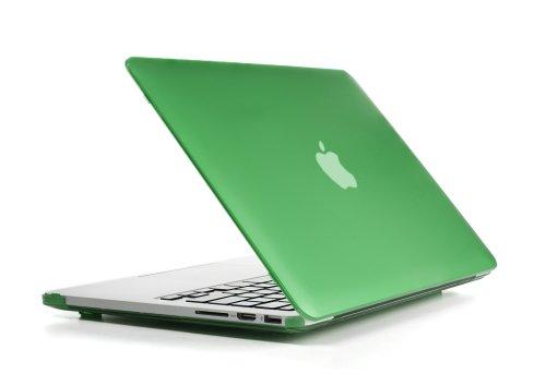 """mCover Macbook Pro fodera rigida / cover / caso duro di protezione (verde) 13"""" Retina Display (realizzati con alta qualità in policarbonato, mCover per Macbook shell è il più venduto negli Stati Uniti) (non compatiable con Macbook Pro 13"""" modello A1278)"""