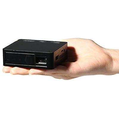 UC 50 Micro Pocket Projector with USB/TF/HDMI/AV Black
