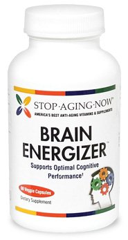 BRAIN ENERGIZER® Memory Support Formula with CoQ10, DHA, Curcumin & More | 60 Caps. Made in the USA.