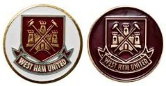 Premier Licensing West Ham United Double Sided Golf Ball Marker Official Merchandise From Premier Li