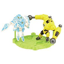 Ben 10 Mini PVS Armodrillo & Ampfibian 2.5 inch 2 pack Mini Figure