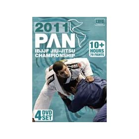 2011 Pan Am Jiu Jitsu Championships 4 DVD set featuring Rodolfo Vieira, Caio Terra, Andre Galvao and more!