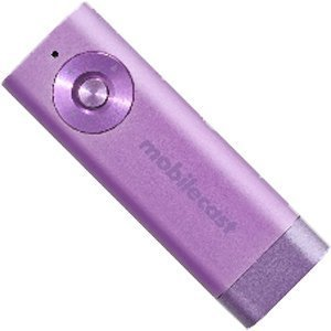 mobilecast COLORS Music ワイヤレス オーディオ レシーバー Bluetooth 高音質ワイヤレスレシーバー (パープル) APX3300PL