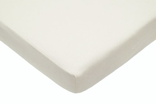 New American Baby Company Organic Cotton Interlock Cradle Sheet