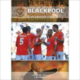 Blackpool Fc Club 2012 Wall Football Official Calendar