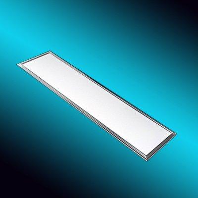 ultraslim d nn led panel decken leuchte 30x120cm dimmbar 40 w watt weiss kaltweiss 6500k inkl. Black Bedroom Furniture Sets. Home Design Ideas