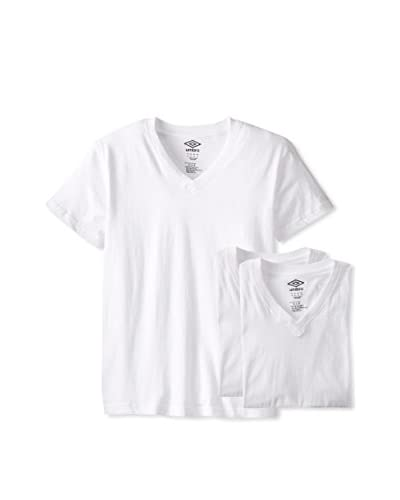 Umbro Men's 3 Pack Basic V-Neck Tees