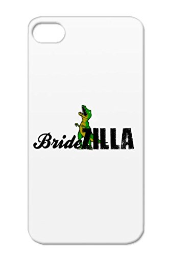 Weddings Wedding T Rex Holidays Occasions Zilla Cheap Bridezilla Dinosaur Clothing Bride Shirt Green BrideZilla 2 Case Cover For Iphone 4