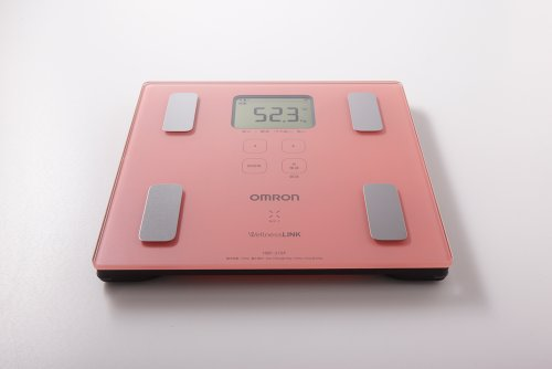 オムロン 体重体組成計 カラダスキャン HBF-215F-PK ピンク【ウェルネスリンク対応】