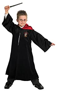 Harry Potter Deluxe School Robe - Childrens Fancy Dress Costume