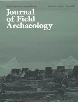 Journal of Field Archaeology cover image
