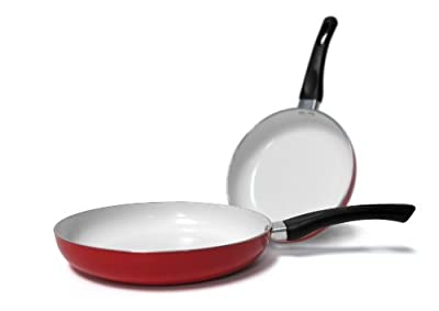 "Healthy Nonstick Ceramic Coated Frying Pan - 11"" Eco Friendly Durable Fry Pan"