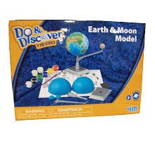 Do & Discover: Earth and Moon Model Making Kit - 1