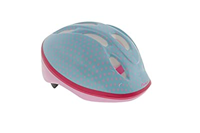 Falcon Girl's Bike Helmet - Blue/Pink, 50-56 cm by Falcon