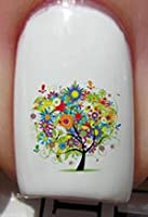 Life in Trees - Nail Decals by YRNails