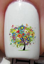 Life in Trees - Nail Decals by YRNails image