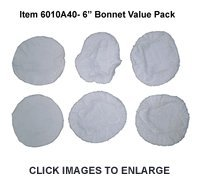 6 Inch Terrycloth Bonnet Value Pack (Wen 6 Inch Polisher compare prices)