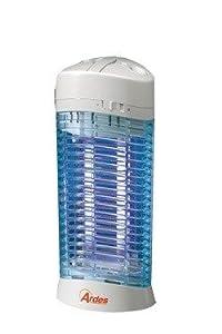 UV Insektenfalle mit zwei speziellen (aktinischen) Lampen. Elektrischer Moskitokiller für Räume bis zu 60qm. Ohne Gift und sehr zuverlässig