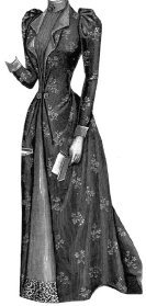 1895 House Gown for Elderly Lady Pattern (Old Dresses For Women compare prices)