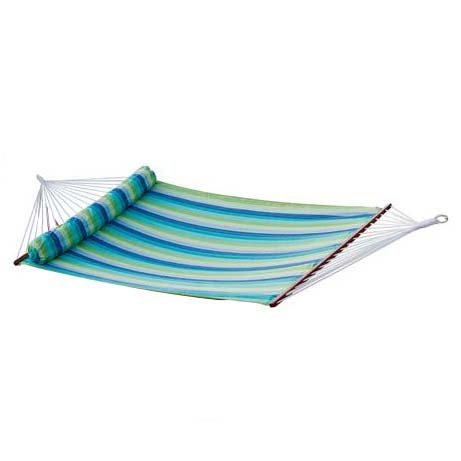 Rst Outdoor Op-Rh02-Bl Ocean Breeze Poly Hammock Bed Set Patio Furniture