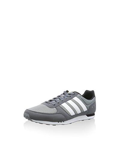 adidas Sneaker City Racer grau/weiß