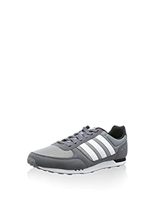 adidas Zapatillas City Racer (Gris / Blanco)