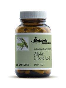 Metabolic Maintenance Lipoic Acid (alpha)100 mg 90 caps