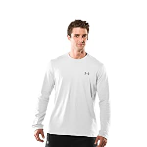Under Armour Herren Top CC Long Sleeve Tee, White, XL, 1217217-100