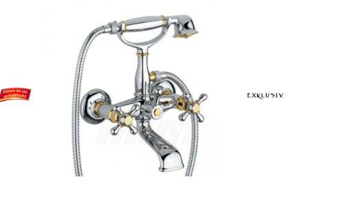 luxus-wannenarmatur-rustikale-2-griff-bad-wandarmatur-mit-brausegarnitur-retrosytle-10-farben-wahlba