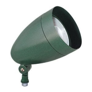 Rab Hbled10Yvg Led Flood 10W Warm Led Bullet With Hood And Lens Verde Green Color