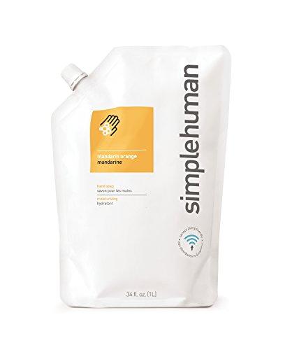 simplehuman-idratante-1-l-colore-mandarino-sacca-di-ricarica-per-dosatore-di-sapone-liquido-a-mano