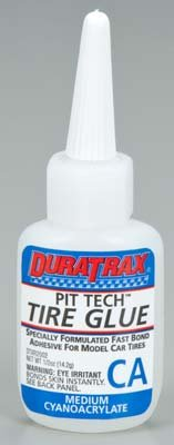 Duratrax Pit Tech Tire Glue Medium .5 oz