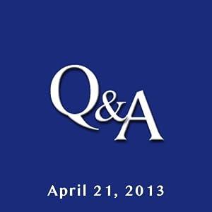 C-SPAN Q & A: Rajiv Chandrasekaran   [Brian Lamb]