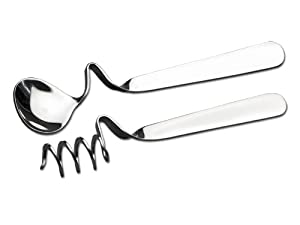 CHG 9593-00 - Juego de cucharillas para miel y mermelada (2 piezas de 13,5 cm y 14,0 cm)   revisión y descripción más