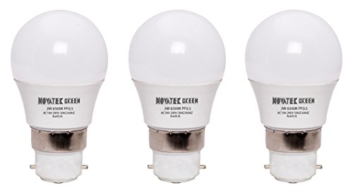 3W-B22-LED-Bulb-(White,-Set-Of-3)