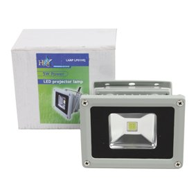 HQ Lamp LP01HQ Aussenstrahler mit 5 Watt Led-Power-Multichip-Modul