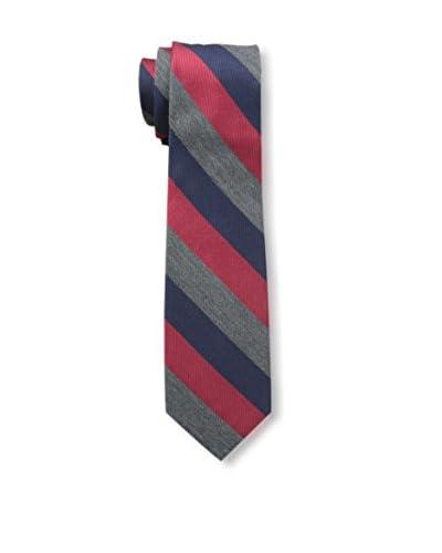 Ben Sherman Men's Bridgewater Stripe Tie, Red