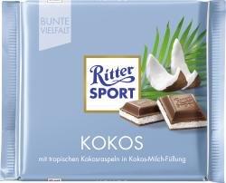 Ritter Sport Kokos 30 % Kakao - 100gr