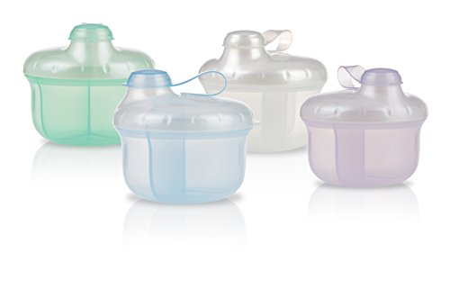 Nuby Milk Powder Dispenser, Colors May Vary - 1
