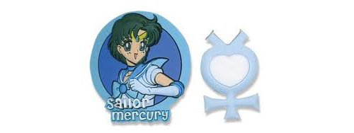 Sailormoon Sailor Mercury & Symbol Pin Set - 1