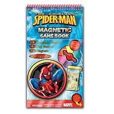 The Amazing Spider-man Magnetic Game Book