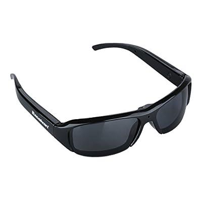 Excelvan HD Polarized Sunglasses Mini Camera Video Audio Recorder DV Eyewear Camcorder, 720P HD, 5.0MP, Support to 32GB TF Card
