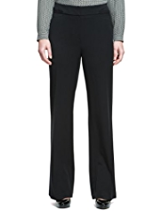 M&S Collection Angled Seam Bootleg Trousers