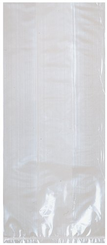 clear sm party bags-25 count - 1
