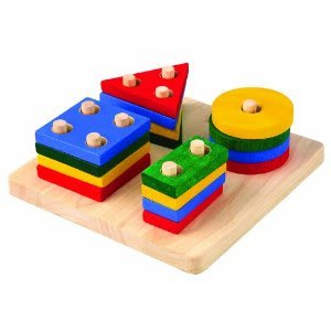 fantastic plan toy geometric super sorting board teaches