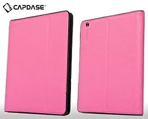 Capdase Flip Book Luxe Case FCAPIPAD3-P841 for iPad 2, 3 (Fuchsia)
