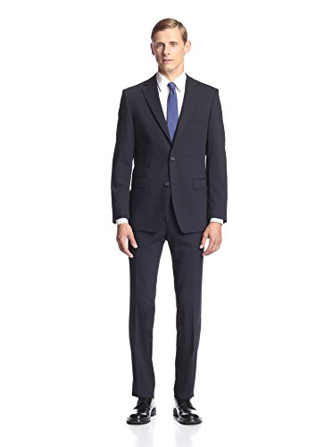 Simon Spurr Men's Solid Slim Fit Suit