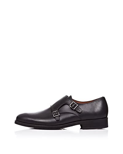 Rooster League Zapatos Monkstrap Doble Hebilla