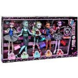 Monster High Dance Class 5 Pack - Rochelle Goyle, Gil Webber, Robecca Steam, Lagoona Blue, and Operetta by Mattel (Monster High Dance Class 5 Pack compare prices)